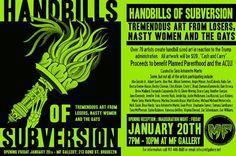 Handbills of Subversion - Tremendous Art from Losers, Nasty Women and The Gays - http://art-nerd.com/newyork/handbills-of-subversion-tremendous-art-from-losers-nasty-women-and-the-gays/