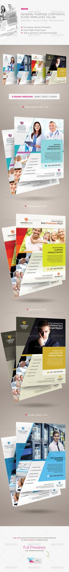 Buy General Purpose Corporate Flyer by on GraphicRiver. General Purpose Corporate Flyer This sixth volume of corporate flyer is designed in clean, modern, professiona. Corporate Style, Corporate Flyer, Business Company, Business Flyer, Editorial, Medical Brochure, Photo Layers, Internet Providers, Marketing Flyers