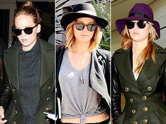 Jennifer Lawrence style: Sunglasses