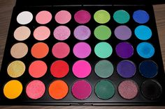 Morphe Eyeshadow Palettes Review — Allison Riggin 35 Color Glam Palette $19.95 from Morphè Brushes