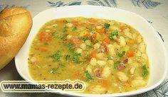 Rezept Weiße Bohnensuppe auf Mamas Rezepte Homepage