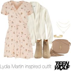 Lydia Martin inspired outfit /TW by tvdsarahmichele on Polyvore featuring River Island, L.L.Bean, Isabel Marant, Yves Saint Laurent, Stella & Dot and plus size clothing