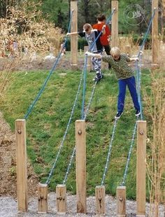 DIY Swing Sets