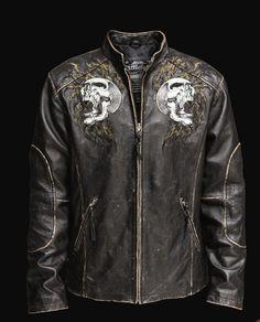 smoking affliction jacket