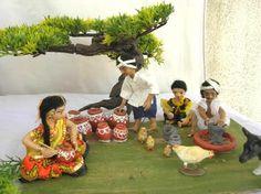 Working Thali Decoration Ideas, Decoration For Ganpati, Farm Fest, Pongal Celebration, Janmashtami Decoration, Ganapati Decoration, Wedding Doll, Indian Dolls, Realistic Dolls