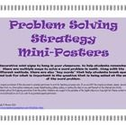 Decorative mini-signs to hang in your classroom, to help students remember there are multiple ways to solve a word problem in math. Along with the ...