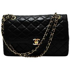 c3332b2e6730 Pre-owned Black Leather Chanel Shoulder Bag ( 1