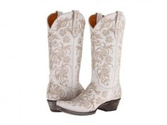Old Gringo Clarise White Footwear Boots