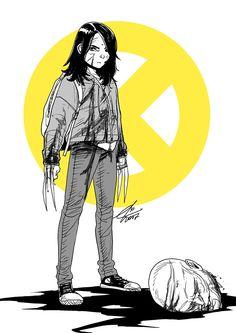 Wolverines x quicksilver Xman Marvel, Marvel Comic Universe, Comics Universe, Marvel Dc Comics, All New Wolverine, Logan Wolverine, X23 Logan, Quicksilver Marvel, Comic Art
