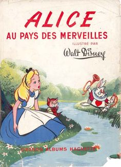 I don't speak french but I have a feeling this has something to do with Alice in wonderland