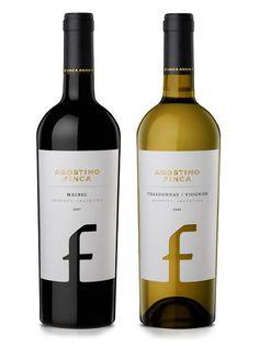 Familia Agostino label design wine / vinho / vino #vinosmaximum
