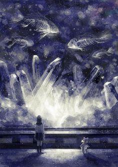石英の海 - Illustrations de la semaine #048 - http://go.shr.lc/1uopsvc #illustration