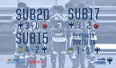 ⚽📝 [Crónica Fuerzas Básicas] La #FuerzaRayada Segunda División, Sub 20 y Sub 17 sigue encendida 💪💪💪http://www.rayados.com/noticias/10607/segunda_divisin_sub_20_y_sub_17_de_rayados_siguen_encendidos