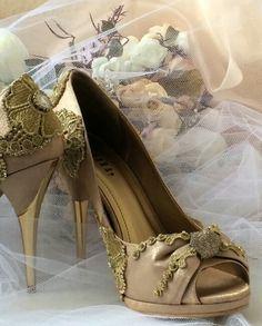 Sapatos  de festa #byannefatah