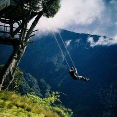 Swing At The End Of The World | Ecuador, Casa del Arbol
