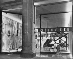 Negozio Olivetti, New York, 1954