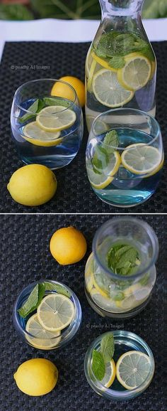 DIY Detox Ideas to Try Today - Lemon and Mint Water - DIY Detox For Weight Loss And To Cleanse Before Bed. Try These Water And Tea Detox Ideas To Flush Toxins And Drugs From Your Body. We Cover Detox Wraps And Different Detox Drink Recipes For Belly And Body. Clear Your Skin With These Easy Step By Step DIY Detox Tutorials That Show You How To Create A Homemade Detox To Get Healthy and To Burn Fat. Try These Natural Detox Cleanses and Drink Recipes For A Flat Belly And To Lose Weight F..