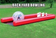 Blow-up bowling game for the backyard! Shut Up And Take My Money – 37 Pics