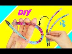 "DIY LIQUID ""LAVA LAMP"" PENCIL | Back to School DIY 2016 - YouTube"