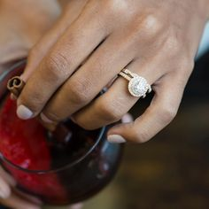 Find an Engagement ring that matches the fall season you love! See it here: http://lovewc.me/Shane_co