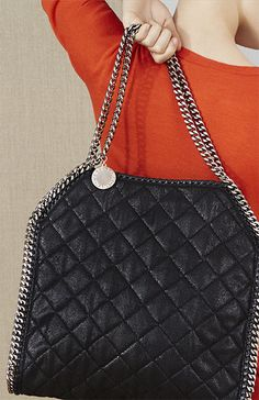 2646b954a728 Stella McCartney Autumn  14 quilted Falabella tote.