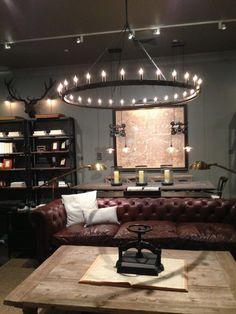 ManCave Lighting - 20 Cool Basement Lighting Ideas, http://hative.com/cool-basement-lighting-ideas/,