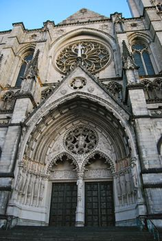 Cathedral of Saint John the Divine, largest gothic church in the world.