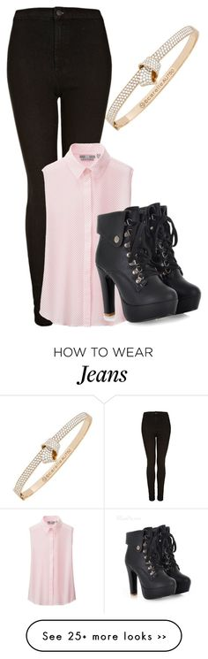"""Moto Toni Jeans"" by aaliyahsalmon on Polyvore"