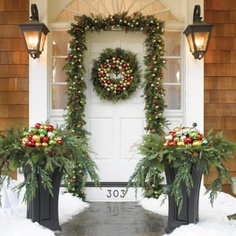 Decorated Christmas Bench BENCH FOR FRONT PORCH IDEA ideas for