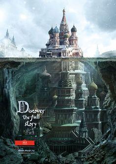 Descubre lo que hay debajo de los edificios más famosos de Rusia