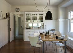Love this particular light in this particular room.  Remodelista's Sarah Lonsdale at Home in St. Helena, California | Remodelista