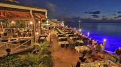 Premier Waterfront Dining Restaurant at Cayman Islands - The Wharf