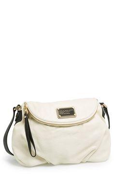 Marc Jacobs 'Classic Q - Natasha' Leather Crossbody Bag