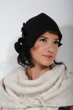 a perfect little black hat Black Hats d4cc57d58e14