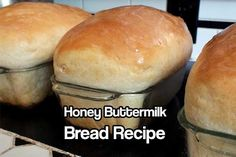 Honey Buttermilk Bread Recipe- soft texture similar to commercial bread