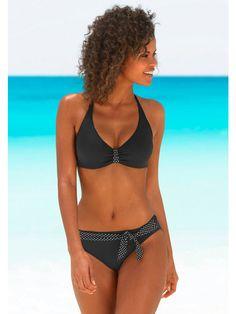Koop BUFFALO_Damen - BUFFALO Beugelbikini in gestippelde look marine in de Heine online-shop