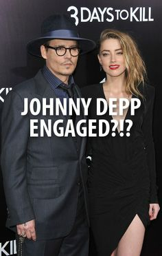 Johnny Depp stopped by the Today Show to talk about his new movie Transcendence and his engagement to Amber Heard. http://www.recapo.com/today-show/today-show-interviews/today-johnny-depps-marriage-amber-heard-new-transcendence-movie/