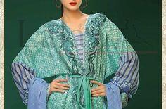 Lala Sana & Samia Crinkle Embroidery Eid Festive Vol-2 Collection 2015-16 CatalogModerate Fashions