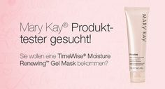 Tester mary kay timewise moisture renewing gel mask