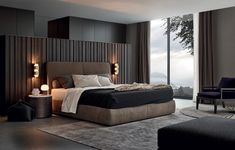 Easy And Cheap Tricks: Chic Minimalist Bedroom Ceilings minimalist home inspiration modern kitchens.Minimalist Interior Bathroom Inspiration minimalist bedroom inspiration home decor.Minimalist Interior Home Life. Modern Bedroom Design, Master Bedroom Design, Contemporary Bedroom, Modern Interior Design, Bedroom Designs, Modern Contemporary, Interior Ideas, Modern Beds, Bed Designs