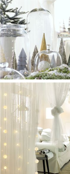 Be inspired by natural elements. Recreate an enchanted winter forest and bring nature to the table with IKEA decor!
