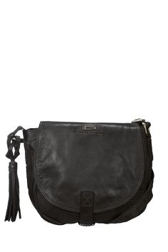 Sac besace en cuir Waiter Noir Ikks women, 170€ Dressing, My Style, Clothes, Women, Fashion, Shoes Online, Clutch Bag, Leather, Tall Clothing