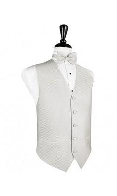 Palermo Platinum Tuxedo Vest