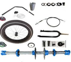 Drift Trike Front Fat Wheel Kit with everything that you need to make your own Motorised Big Wheel Drift Trike Front end Drift Trike Wheels, Drift Trike Kit, Drift Trike Parts, Bike Drift, Drift Trike Frame, Bike Parts, Motorized Big Wheel, Drift Trike Motorized, Go Kart Frame Plans