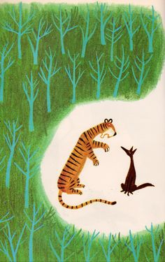 The Tiger, the Brahman, and the Jackal, illustrated by Mamoru Funai