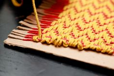 For beginners who are interested in weaving, a cardboard loom is a great way to learn and practice designs before deciding to invest in a sturdier loom – like the Cricket Loom or Martha Stewart CraftsTM Knit & Weave Loom Kit. Thisstep by step tutorial will helpyou get started on your new journey into weaving!…