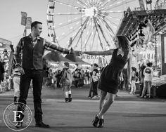 Arizona State Fair Engagement Photo Shoot | Arizona Engagement Photographer