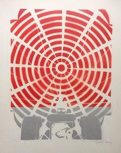 Gerald Laing, Deceleration (1964), Stencil & Spray paint #popart!