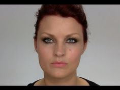 Makeup Tutorial: Olive / Gold eyeshadow, great for brown eyes.   So many people say purple looks great on brown eyes, but when I try it, it always looks like prom 1986 so this is a really great color combination for darker eyes.
