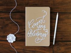 Gratitude journal Christian journal Count your Blessings